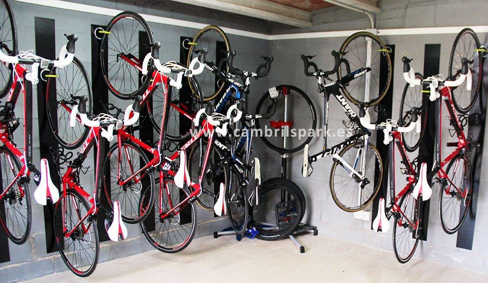 Cambrils Park bike storage