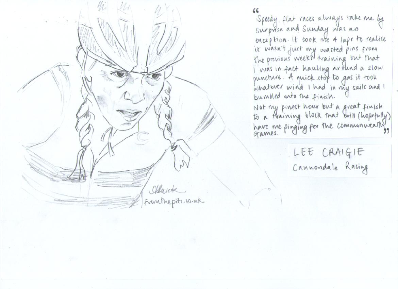 Lee Craigie Sketch (c) Anna Buick