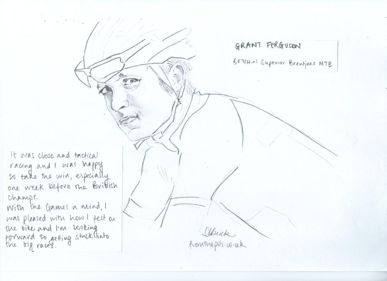 Grant Ferguson Sketch (c) Anna Buick